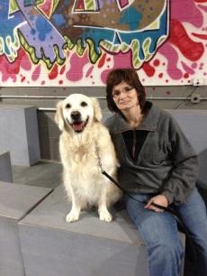 Golden Retriever earns trick dog title